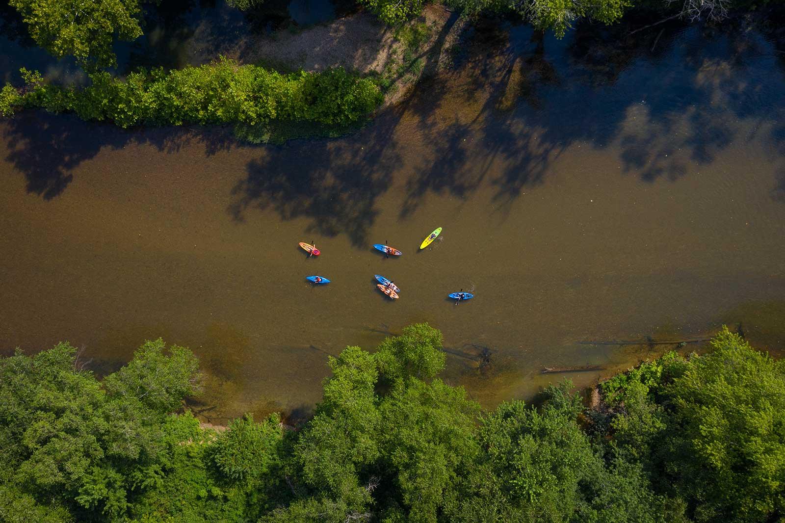 Aerial Kayaks
