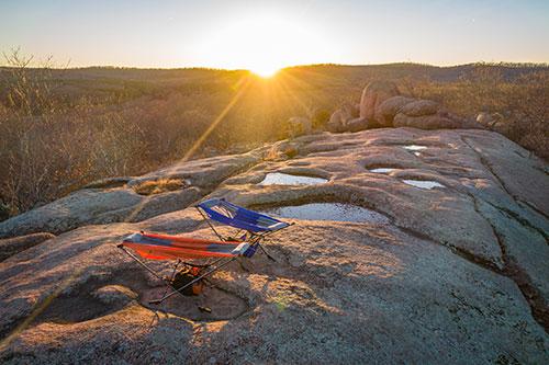 Elephant Rocks Sunrise