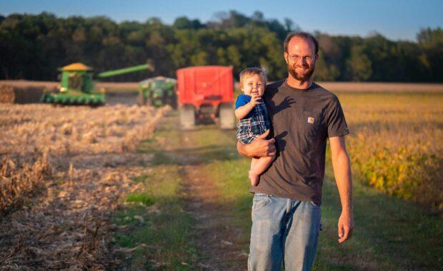 Wilson Video People Farmer Son